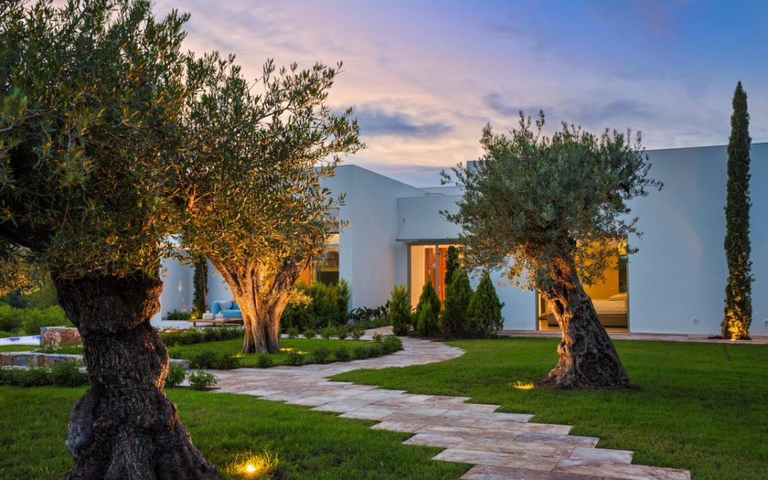 Landscaping, living with the five senses at Costa Blanca